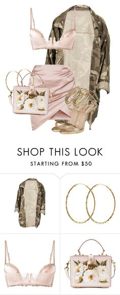 """Untitled #3782"" by xirix ❤ liked on Polyvore featuring Pernille Corydon, La Perla, Dolce&Gabbana and Dsquared2"