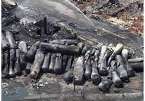 msn.com               Image: File photo of an aerial view of burned train cars after a train derailment & explosion in Lac-Megantic, Quebec