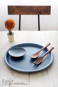 calm 10cmプレート(ネイビー)/作家「トキノハ」/和食器通販セレクトショップ「flatto」#トキノハ #和食器