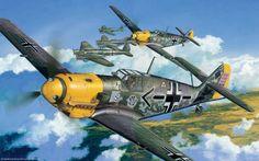 Messerschmitt Bf109. Adolf Galland