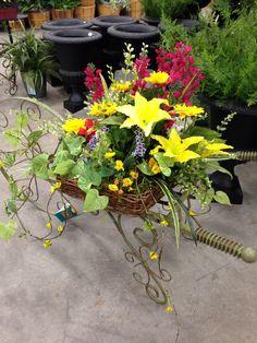 Spring basket by Kelly