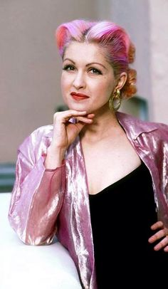 Cyndi Lauper -  American singer, songwriter, actress and LGBT rights activist