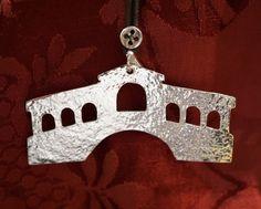 "Rialto Bridge silver pendant ""LAGUNA"" series"