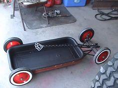 rat rod radio flyer wagon - Google Search