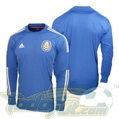 adidas Mexico 2011/2012 Goalkeeper Soccer Jersey