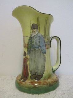Royal Doulton Noke Series Ware Dutch Harlem Water Jug