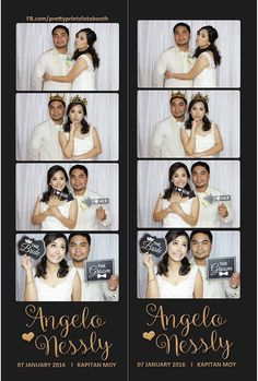 Vintage photobooth peg as our wedding souvenir for our guests. Photobooth Layout, Photobooth Template, Wedding Souvenir, Just Married, Ever After, Creative Art, Photo Booth, Signage, Our Wedding