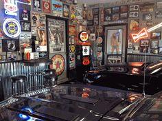 Car Guy Garage - cool garage shop stool