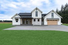 Looking for a modern farmhouse exterior? Check out this stunning country style home. It gives you farmhouse flair and cool curb appeal. Questions? Call 1-800-447-0027 today. #architect #architecture #buildingdesign #homedesign #residence #homesweethome #dreamhome #newhome #newhouse #foreverhome #interiors #archdaily #modern #farmhouse #house #lifestyle #designer Modern Farmhouse Exterior, Country Farmhouse, Farmhouse Plans, Dining Room Fireplace, Contemporary Style Homes, Country Style House Plans, Great Rooms, Decoration, New Homes
