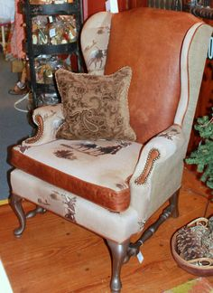 20 Best Wing Chair Makeover Images Armchair Wingback