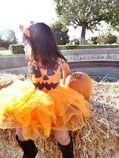 Pumpkin costume for Toddler.