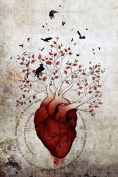 Weirwood: The Heart Tree by wolverrain: