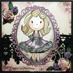 Miss Hollywood  made by Paper Nest Dolls Rubber Stamps & sold individually. Items can be purchased in my ebay Store Pat's Rubber Stamps & Scrapbooks or call me 423-357-4334 with order, or come by 1327 Glenmar Ave. Mt Carmel, TN 37645, Pat's Rubber Stamps & Scrapbook supplies 423-357-4334. We take PayPal. You get free shipping with the phone orders of $30.00 or more