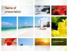 Resort Collage PowerPoint Template - YouTube http://youtu.be/Y446CDJ7rY4