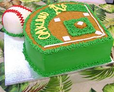 Baseball Cakes  Oakland A's Cake Love the A's! Maybe do this for my birthday :)
