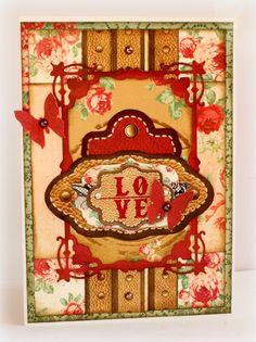 Lovely Love & Lace cards by Romy Veul for BoBunny. #BoBunny @romy19