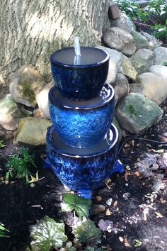 Blue Planters Waterfall
