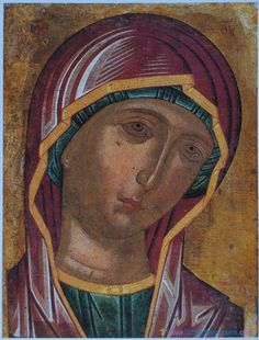 Holy Mother - Monastery of St. Part III Religious Images, Religious Icons, Religious Art, Byzantine Icons, Byzantine Art, Saint Catherine's Monastery, Saint Katherine, Church Icon, Images Of Mary