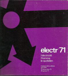 Visuel de l'exposition réalisée à la Maison de la culture de Grenoble du 22 décembre 1970 au 31 janvier 1971.