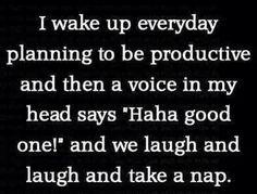 pretty much..true story