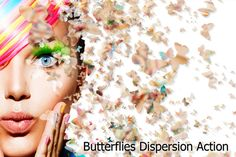 Butterflies Dispersion Action by ArtPlanet on @creativework247