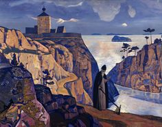 Nicholas Roerich >>> http://www.roerich.org/roerich-paintings-selected.php