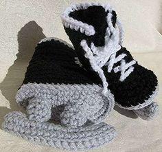 Crocheted Ice Skates - Hockey Skate Booties for NHL-Obsessed Newborns (GALLERY)