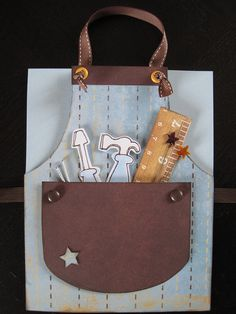 Mr. Fix-It themed apron birthday card by cengland24, via Flickr