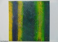 Green & Yellow with Black and White Abstract by LoveHandyWork Black And White Abstract, Abstract Paintings, Etsy Shop, Yellow, Green, Color, Art, Art Background, Colour