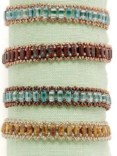 Beaded Bracelets Tutorial, Beaded Bracelet Patterns, Seed Bead Bracelets, Silver Bracelets, Handmade Bracelets, Beading Patterns, Beaded Earrings, Jewelry Bracelets, Handmade Jewelry
