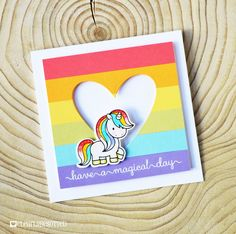 Fairy Tale Unicorns   Clearly Besotted Stamps