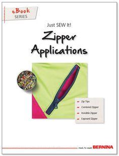 Just SEW It - eBook: Zipper Applications