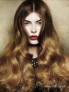 stunning ombre with deep bronze tones fading into burnt caramels. Angelo Seminara BHA entry 2010