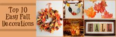 Top 10 Easy Fall Decorations