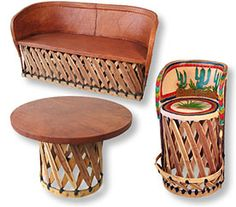 Equipale Mexican Chairs and Tables--patio, deck,balcony….