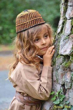 Kurdistan - Kurdish girl dressed in boys clothing , absolutely beautiful