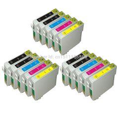 15 COMPATIBLE T0711 T0712 T0713 T0714 INK CARTRIDGES FOR EPSON STYLUS DX8400 DX4050 DX4400 DX4450 DX5000 DX5050 DX6000 PRINTER