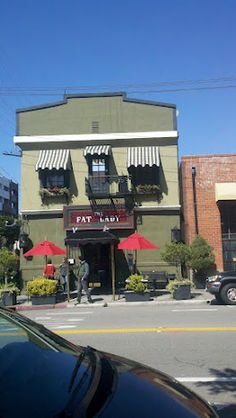 """The """"Fat Lady"""" restaurant is housed in a building erected in 1884.  The fat lady is a reference to the building's supposedly baudy past."""