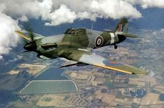 Hawker Mark IID Hurricane, with the 40 mm Vickers S guns.