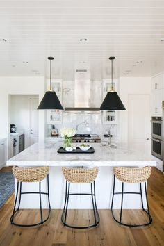 BECKI OWENS- Pendant Light Roundup today the blog! Quickly update your space with a new statement light. We're sharing a few of our favorites.