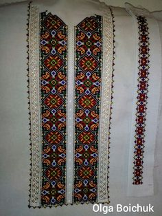 Folk Embroidery, Diy Arts And Crafts, Ua, Ornaments, How To Make, Men's Shirts, Farmhouse Rugs, Stitching, Women