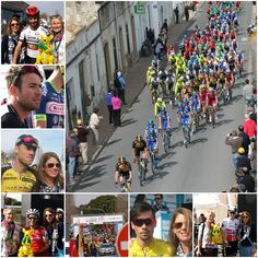 Algarve the perfect cycling landscapes, delightful town's and people with the smiley, weary faces of the professional cyclists beginning to show...and what a show it was!