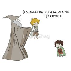Awww... And remember kiddies, always take your Sam with you on your epic adventures! ;) or a dean Winchester