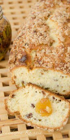 Ciasto drożdżowe – sypane Sweet Recipes, Cake Recipes, Dessert Recipes, Desserts, Good Food, Yummy Food, Polish Recipes, Polish Food, Sweets Cake