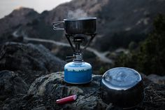 Here's a look at the best motorcycle camping stoves out there that you can buy for your next motorcycle camping trip. Cook your food and stay toasty warm! Camping Gas, Motorcycle Camping, Camping Cooking, Hiking Food, Backpacking Food, Camping Foods, Graham Crackers, Camping Supplies, How To Cook Quinoa