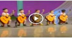 IT LOOKS LIKE THESE 5 KIDS CAN BARELY HOLD THE GUITARS. WHAT THEY DO NEXT? WOW!