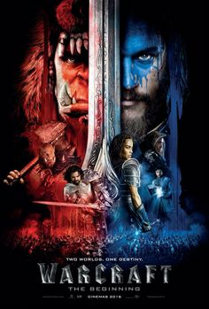 Warcraft   I really enjoyed watching this movie, it had more plot than your average fantasy movie, well choreographed fight scenes and kept me interested throughout