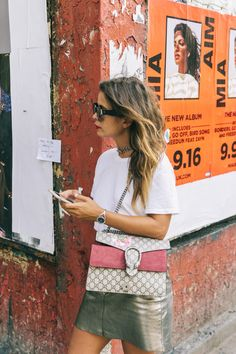 nyfw-new_york_fashion_week_ss17-street_style-outfit-collage_vintage-metallic_leather_skirt-gucci_bag-soludos_espadriles-57
