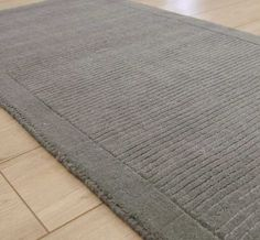 York Grey Hall Runner Rugs | Modern Rugs