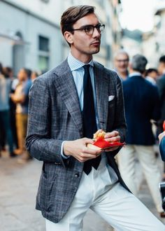 The Young Tailors Symposium at Pitti: A Retrospective - The Rake Magazine Mens Fashion, Fashion Outfits, Fashion Ideas, Suit Separates, Geek Chic, Gentleman Style, Classic Style, Street Wear, Suit Jacket